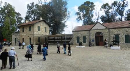 תחנת הרכבת ההיסטורית בכפר יהושע